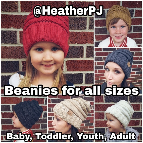 3f52abe832d3f Messy Bun Hats and Unisex Beanies All Sizes